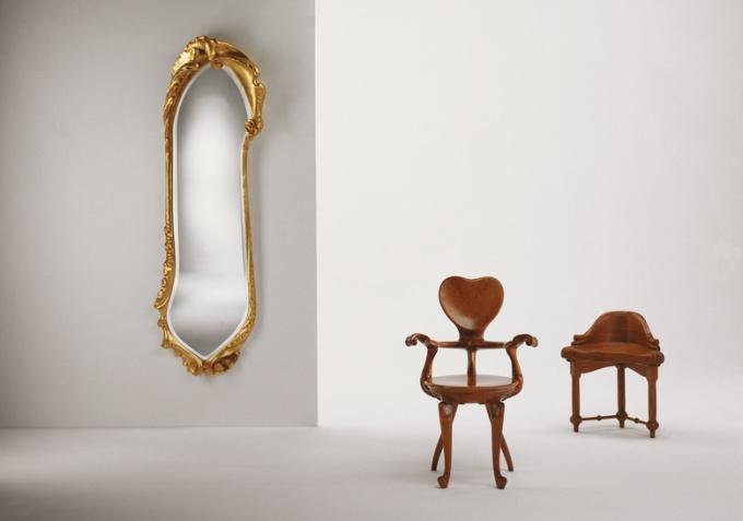 Calvet Mirror by Antoni Gaudi