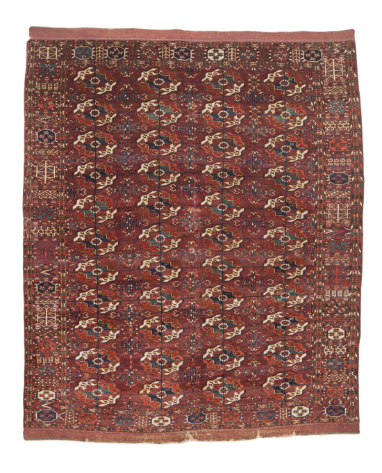 Tekke Main Carpet by Unknown Artist
