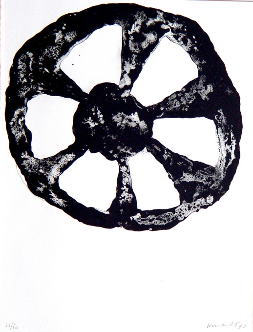 'Das Rad' by Armando (Herman Dirk van Dodeweerd)