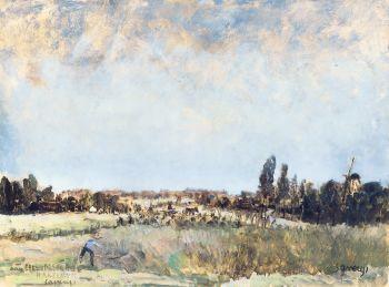 Landscape by Albert Saverys