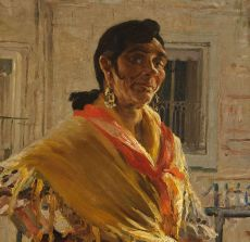 Spanish gypsy woman by Jan Sluijters