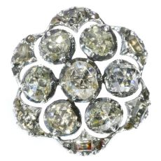 18th Century diamond button by Unknown Artist