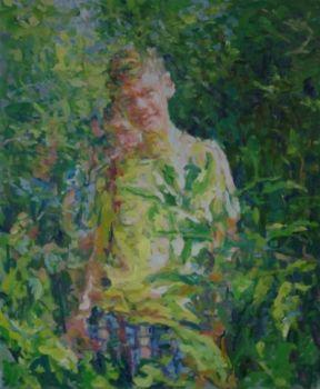 Encounter in the Woods  by Niels Smits van Burgst