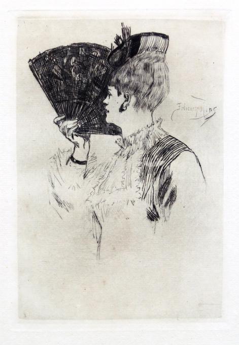 Manette Salomon or Parisine by Felicien Rops