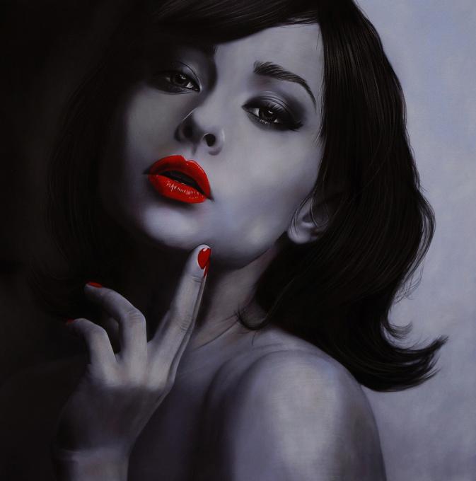 Strawberry Red II by Brita Seifert