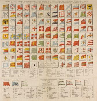 Vlaggenkaart  by  Maaskamp