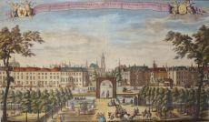Den Haag, Malieveld, Prinsessegracht en Korte Voorhout by Leonardus Schenk