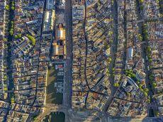 Beurs van Berlage - Amsterdam Aerials by Jeffrey Milstein