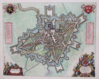 Breda  by  Joan Blaeu