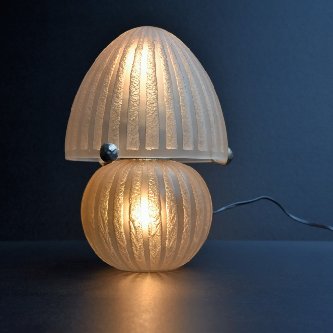 Tablelamp by Daum Frères