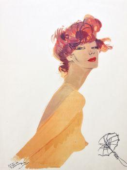 Ernestine est a peindre by Jean-Gabriel Domergue