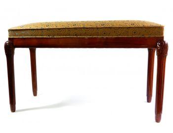 Art Deco bench by Paul Follot