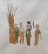 'Zonder titel' by Marcel Dzama