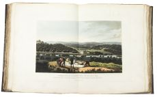 Beautifully illustrated treatise on landscape gardening by Humphry Repton, illustrated with many fin by Humphry Repton