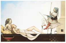 The court painter by Michael Parkes