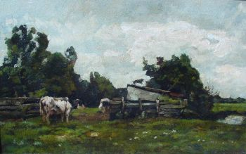 Milking spot by Willem de Zwart
