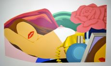 Nude with Rose by Tom Wesselmann
