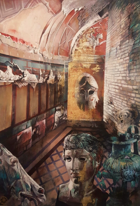 Pompeii III by Gerti Bierenbroodspot
