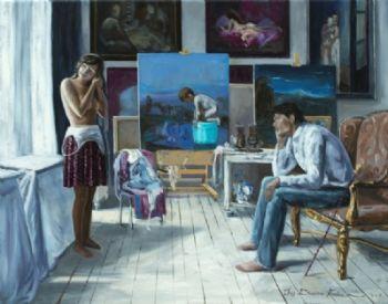 The studio  by Iris Frederix