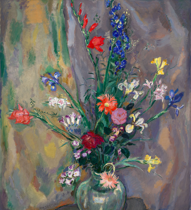 A Still-Life with Spring Flowers by Jan Sluijters