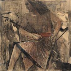 Egyptische Jachtknecht by Willem van Konijnenburg