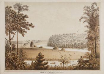 """""""Tandjong East and Tandjong West, near Jakarta (Batavia) 1819"""" by QUIRIJN MAURITS RUDOLPH VERHUELL"""