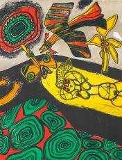 Geel en zwart by Corneille