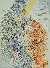 Divina commedia paradiso 11 by Salvador Dali