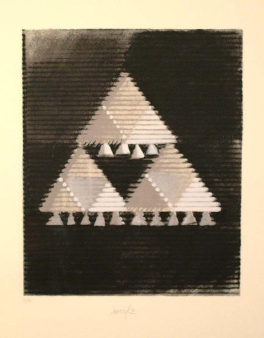 Das hohelied Salomo by Heinz Mack