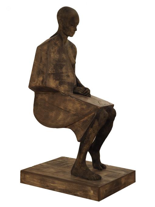 Mujer Sentada by Jesús Curía Perez