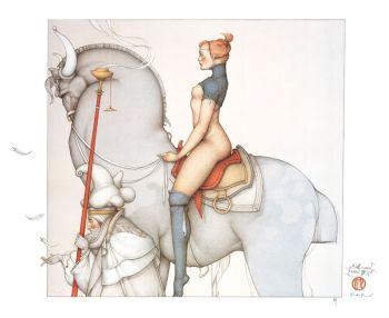Jeanne d'Arc by Michael Parkes