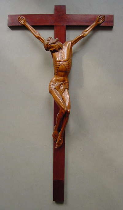 Crucifix ( ca. 1920) by Unknown Artist