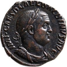 AE Sestertius Balbinus (238) by Unknown Artist