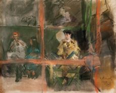 Fete a Montmartre by Isaac Israels
