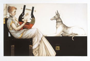 Anubis by Michael Parkes