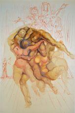 Divina commedia inferno 08 by Salvador Dali