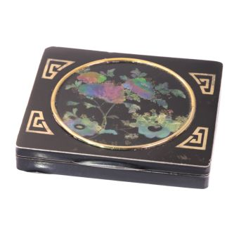 Art Deco cigarette case linked to General MacArthur and Charles Lindbergh? by Unknown Artist