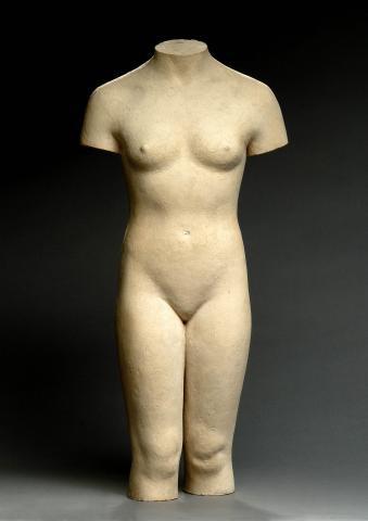 Female Torso  by Han Wezelaar