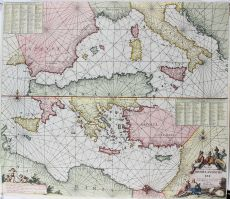 Middellandse Zee by Keulen, Ioannes van