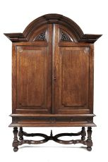 Large two-door Cabinet on Stand, Indonesia, Batavia, second half 18th century by Unknown Artist