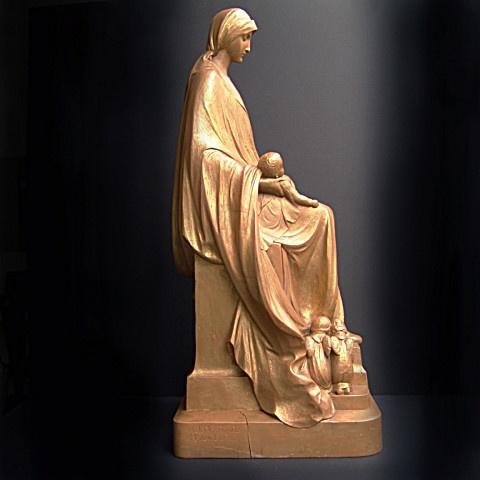 Madonna sculpture  by Achillis Moortgat
