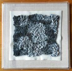 Grey White Mini Flow by Fenella Elms