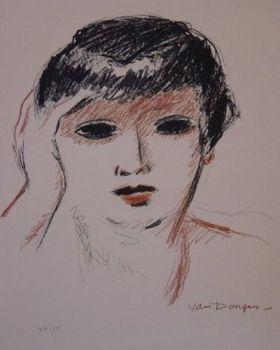 Fernande Olivier by Kees van Dongen
