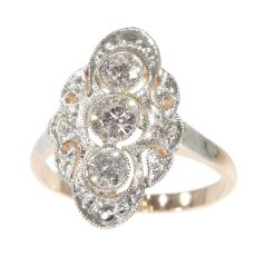 Vintage diamond engagement ring by Unknown
