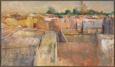 Uitzicht van hotelterras by Peter Blokhuis
