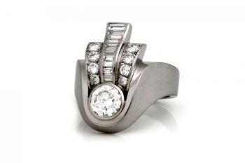 Art Modern Ring by Unknown Artist
