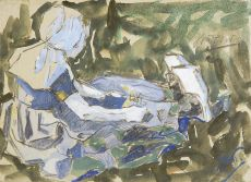 Zeeuw meisje by Jan Toorop