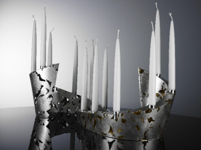 "Candle holders "" Field bouquet"" by Paul de Vries"