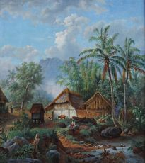 'Dessa near the place Malang' by Maurits van den Kerkhoff