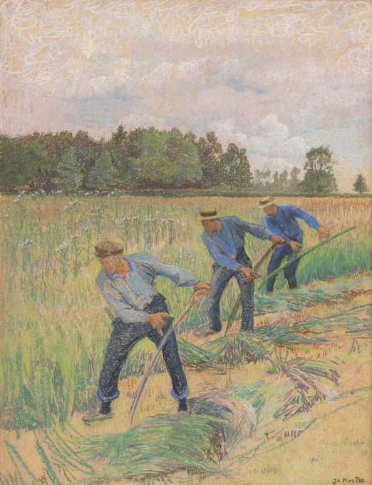 Farmers at Work by Jo Koster